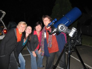 ~ Even teachers enjoy an astronomy night ~