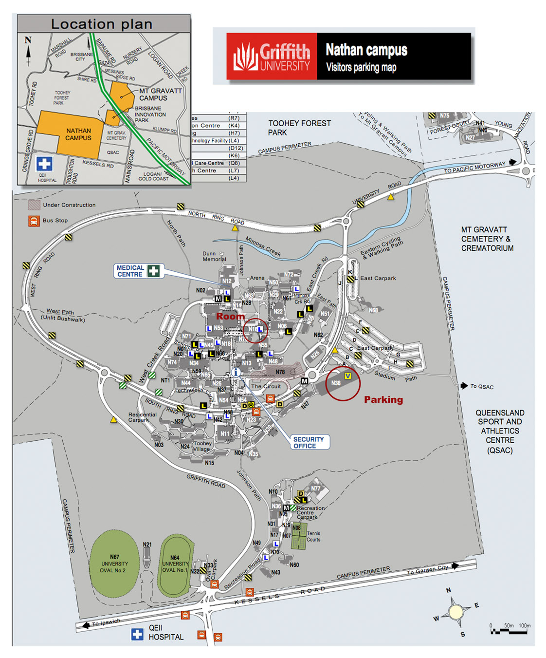 Griffith University Map Griffith University Map | compressportnederland Griffith University Map